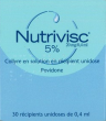 Nutrivisc 5% (20 mg/0,4 ml), collyre en solution en récipient unidose